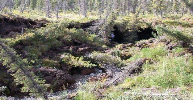 The permafrost more intimidating than expected