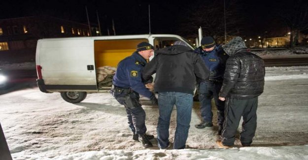 The police of the foreign stöldligorna: Border controls need to be strengthened