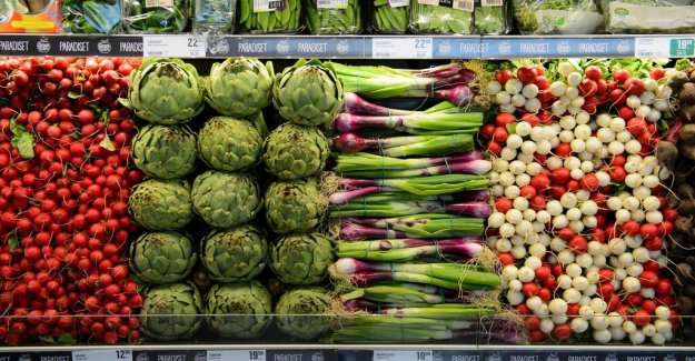 The prices of vegetables have risen by 10 per cent