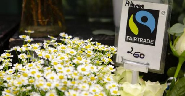 The sales of fair trade products is rising