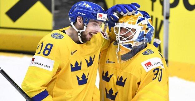 The season's first zero for Henrik Lundqvist