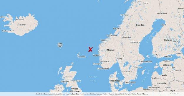 The smoke alarm on the Norwegian oil platform