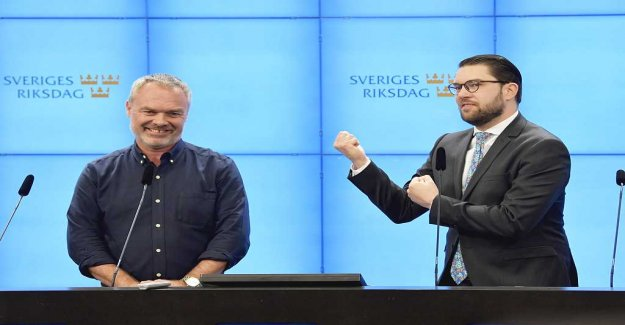 The sweden democrats are taking the fast train out in the heat