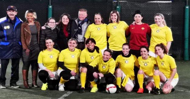 The vatican will start a women's team in football