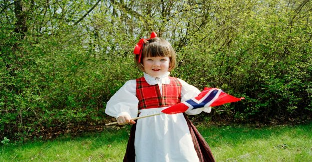 Therefore be celebrated may 17 – Syttende mai