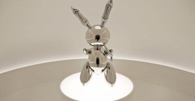 This Bunny is 91,1 million Dollar value