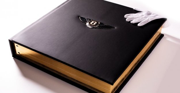 This book about Bentley is more expensive than a house