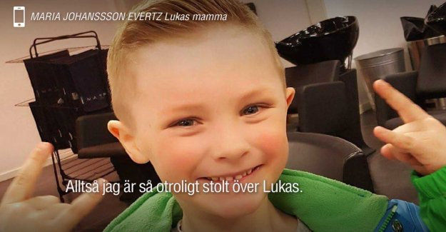 This is a compilation of Luke, 6, in money to Barndiabetesfonden