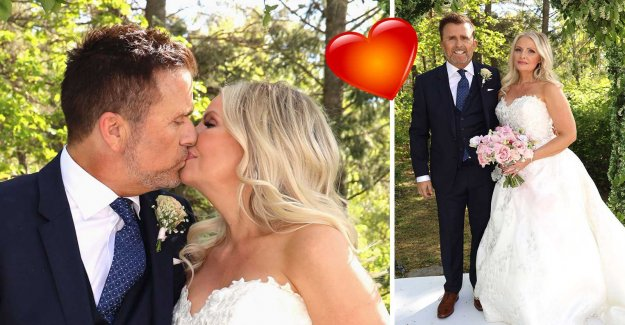 This marries Jan Johansen with her Jenny: Happiest day of my life
