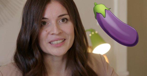 This woman designed accidentally doubtful eggplant emoji