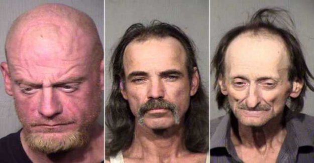 Three men arrested for stealing band guitars