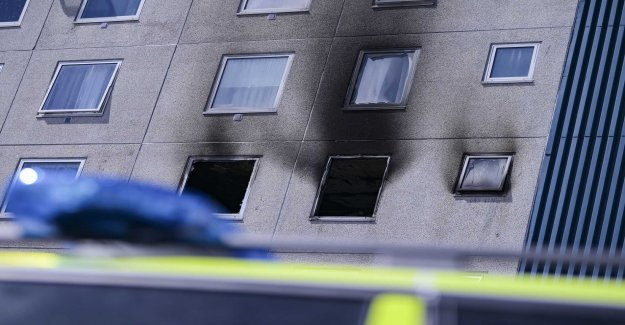 Three to hospital after fire