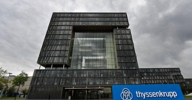 ThyssenKrupp wants, still naked redundancies to avoid