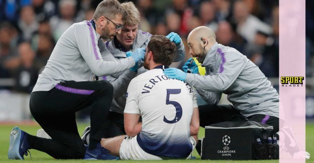 Tottenham's answer, after the nasty injury
