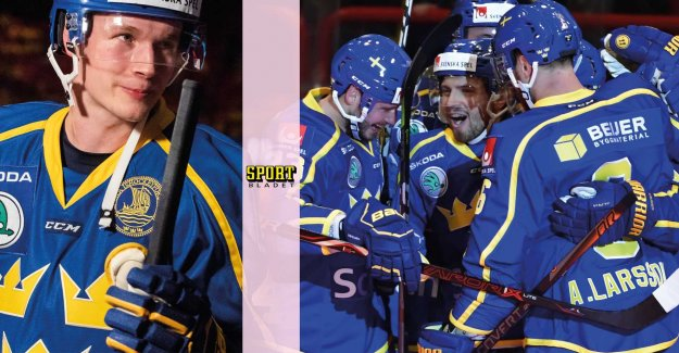 Tre Kronor won the world CUP dress rehearsal against Finland