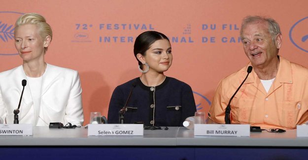 Trickster Bill Murray are a little awry at the film festival Cannes