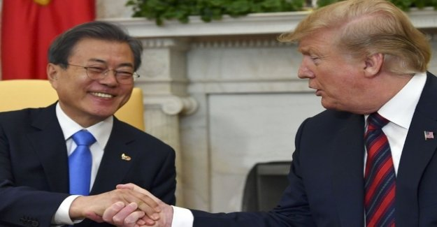Trump wants to travel at the end of June to South Korea