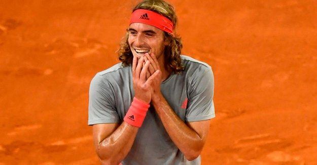 Tsitsipas keeps Nadal from the final in Madrid