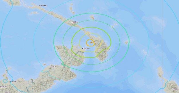 Tsunami warning Papua new Guinea