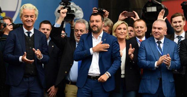 Twelve parties are in Milan for strong eurokritische fraction