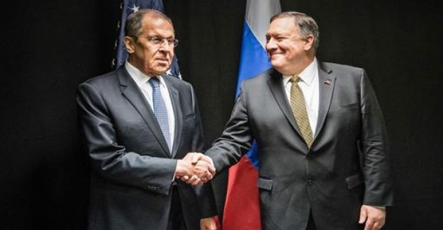 U.S. Secretary of state in Russia: differences in almost all subjects