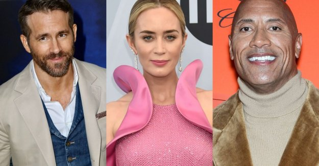 Up to 27 million for one movie: the highest wages out of Hollywood this year