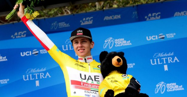 VIDEO. 20-year-old Pogacar stores double win in Tour of California