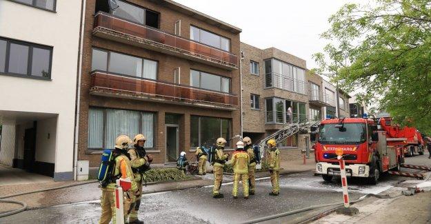 VIDEO. Apartment runs heavy damage in fire