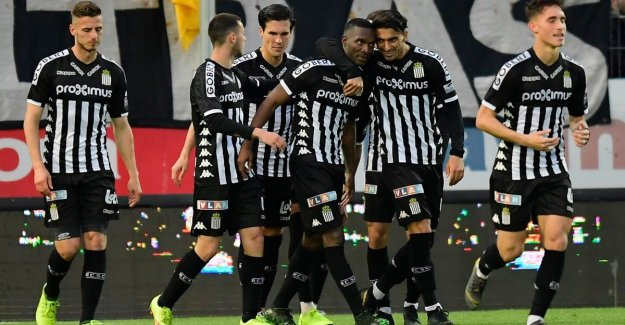 VIDEO. Charleroi prepares appropriate the Guldensporenslag for with win against Eupen