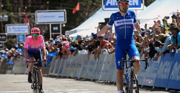 VIDEO. Deceuninck with Kasper Asgreen to the party in second stage Tour of California
