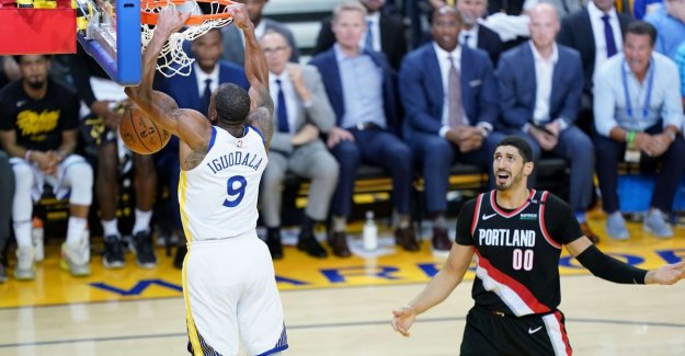 VIDEO. Even without Kevin Durant is in Portland no match for Golden State in the finals of the west