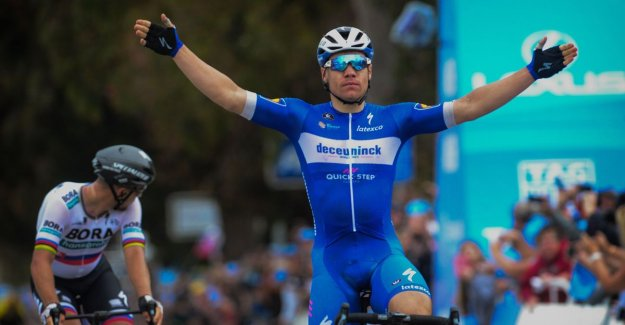 VIDEO. Jakobsen makes hattrick for Deceuninck Quick.Step complete in California, philipsen is admitted grabs just next to victory