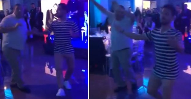VIDEO. Learned from a Cat? Dries Mertens let themselves completely go on the dance floor