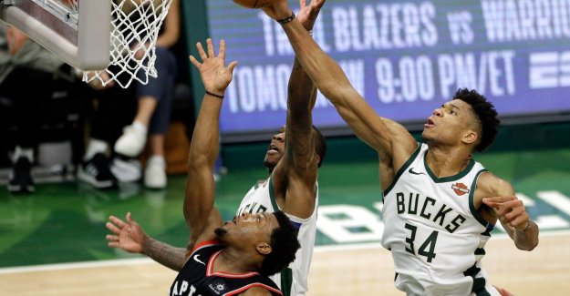 VIDEO. Milwaukee beat Toronto in the first finaleduel of Eastern Conference