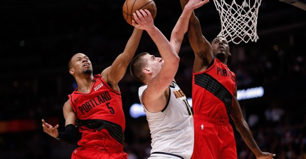 VIDEO. Portland beats Denver and hanging signs the same in the semi-finals NBA