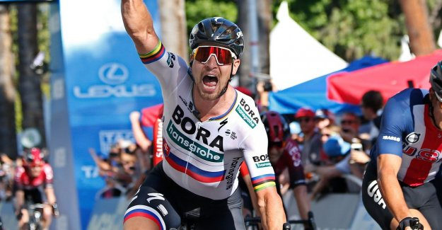 VIDEO. Sagan sprints to victory in California