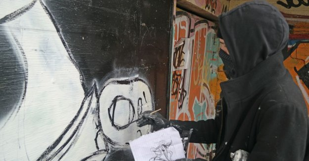 VIDEO. Unknown graffiti artist behind the 'Ghent schreeuwers' speaks for the first time: This is pure expression