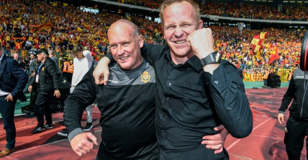 VIDEO. Vrancken saw KVM-players are meticulously to the plan: See here, no individualists