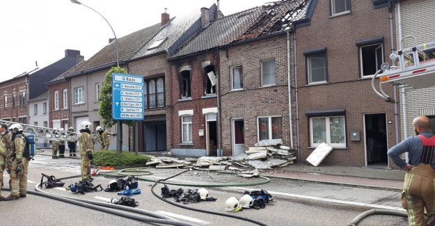 VIDEO: three homes hit by fire in Scherpenheuvel, elderly lady to hospital