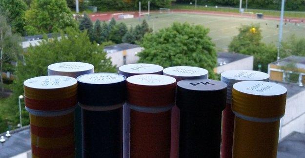VUB-student designs intelligent estafettestokjes for 12-hour run