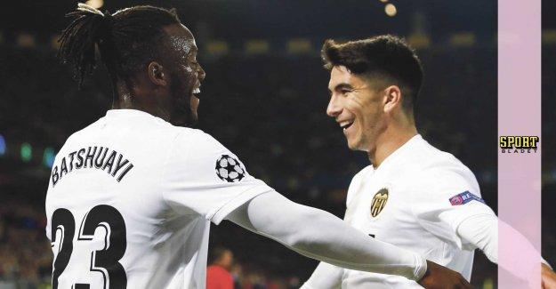 Valencia trick him before skrällaget