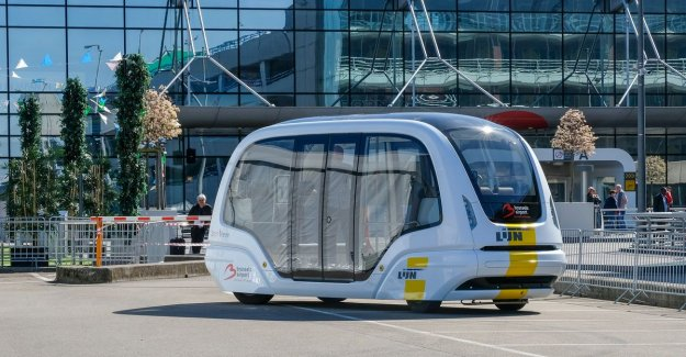 Van comes... but without a driver: First self-propelled bus runs from 2021 to airport