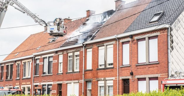 Video. Fire affects three homes on the Moortelstraat: just Had our house renovated, now we are all lost