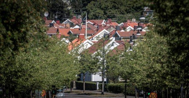 Villapriserna rose the most in april