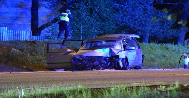 Voltade with the car after police chase – two injured