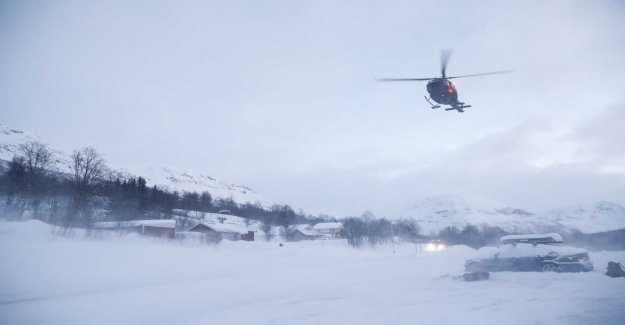 Was swept away by the avalanche – is still missing