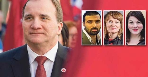 What do Löfven – more than to retain power?