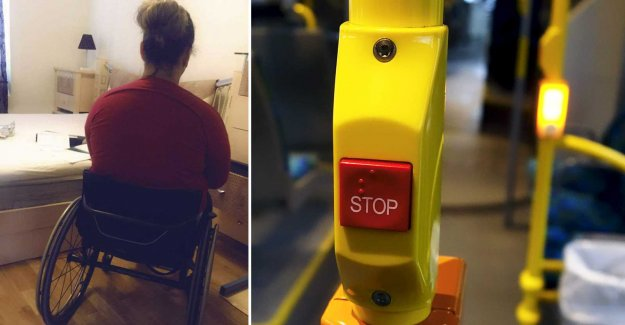Wheelchair users Zejnepe would take the bus – but the trip ended in tears