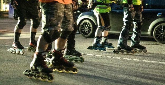 When I'm on inline skates, I feel free
