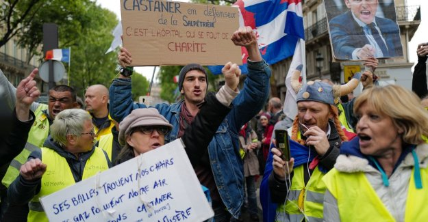 Yellow vests for the 25th time in the street in France, but leanest rise since launch